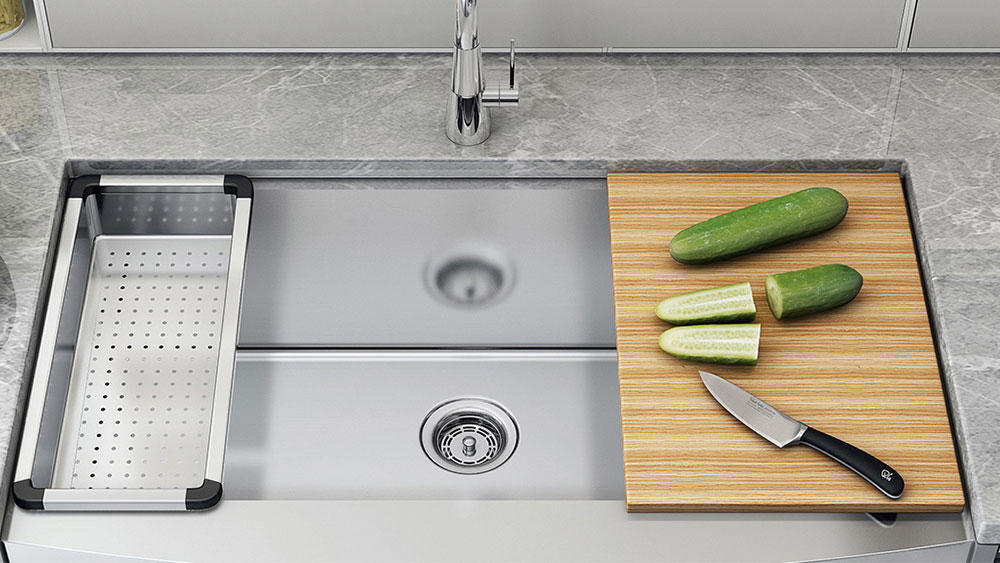 Tophome specialize in producing handmade stainless steel sinks (basin). Our products are exported to all countries and win the trust of customers. The core conception of our company: innovation、responsibility and win-win. We not only guarantee good qualit