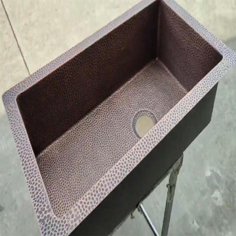 Handmade Cupper kitchen sink