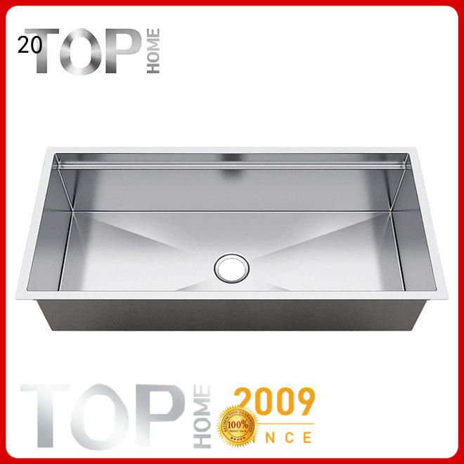 Top Home corner undermount stainless steel kitchen sink online for outdoor
