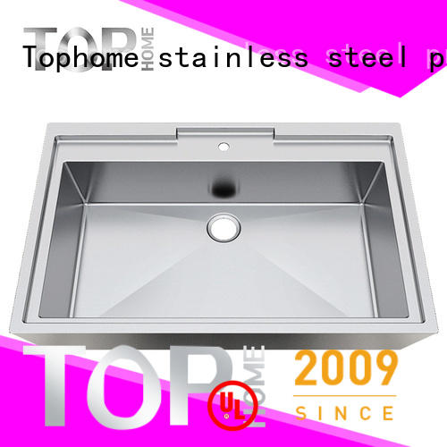Top Home durable stainless steel bathroom vessel apbr4620s for washroom