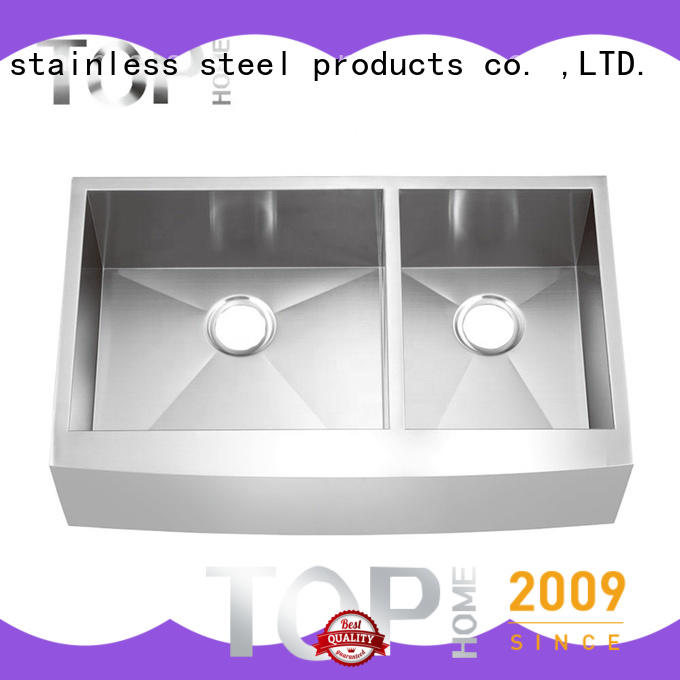 Top Home cupc stainless steel farmhouse sink durable for outdoor