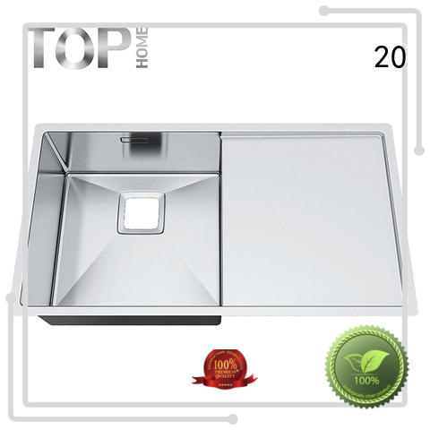 Top Home dropin over mount double sinks easy installation kitchen