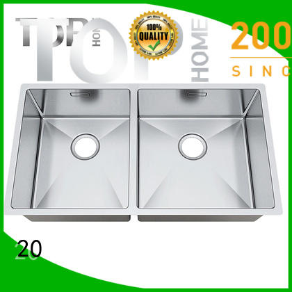 Top Home industrial stainless steel kitchen sink durability for cooking