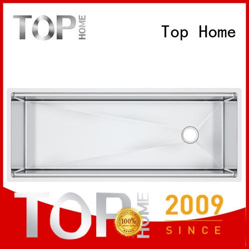 Top Home modern stainless steel sink wash easily for countertop