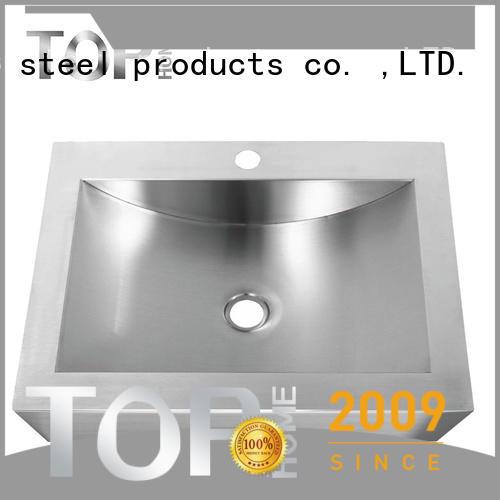 Top Home cupc stainless steel bathroom sink fixtures