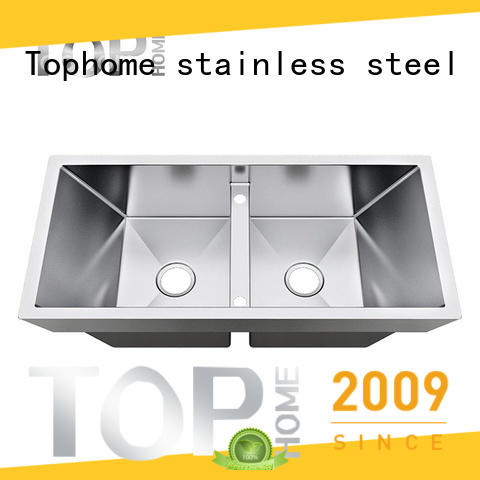 Top Home Stainless steel top mount farmhouse sink online villa