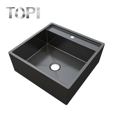 APBR2020S Workstation Ledge Top mount 16 Gauge Stainless Steel Kitchen Sink Single Bowl