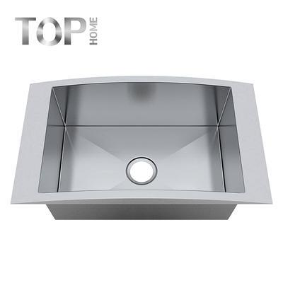18 Gauge Top mount Drop-in Single Bowl Handmade Stainless Steel Kitchen Sink