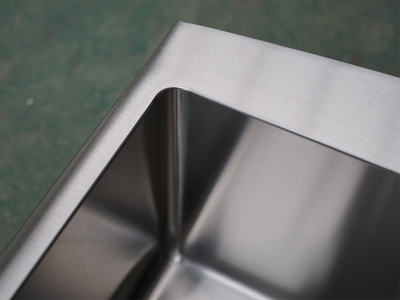 Top Home Modern stylish stainless steel sink corner for Lavatory-9