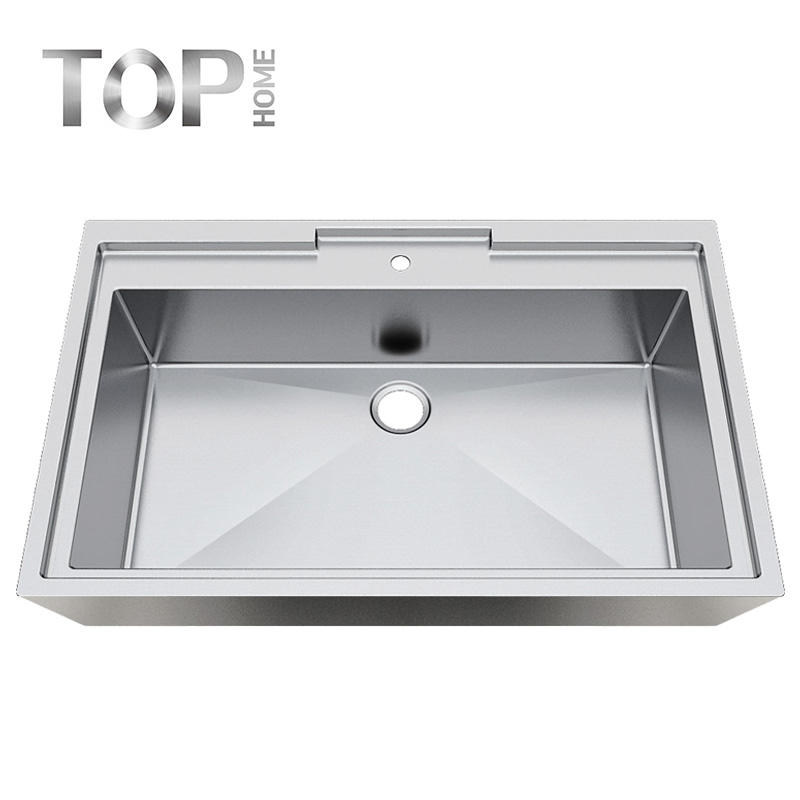 APBR4227S Easy to clean and long-lasting with Brushed-finish R10/R15/R20 Radius Single Bowl Bathroom Sink