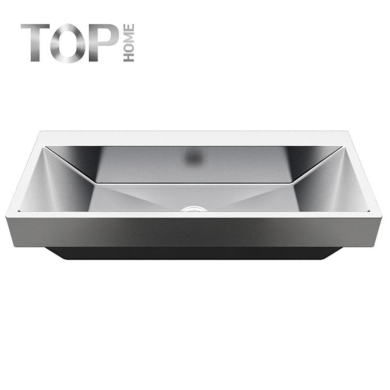 APBR4620S High quality 304 Stainless Steel for lasting durability Single Bowl Bathroom Sink with CUPC certification