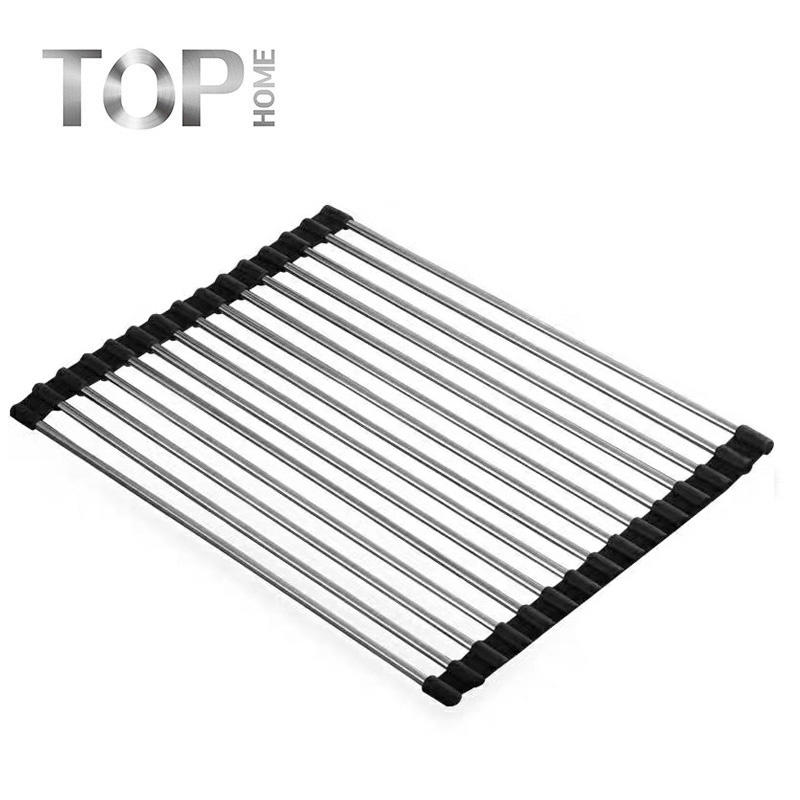 New products handmade stainless steel sink set drying rack for kitchen with ex-factory price.