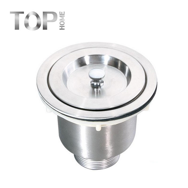 Hot sales Strainer make by 304 stainless steel, the Accessories of Handmade Kitchen Sink