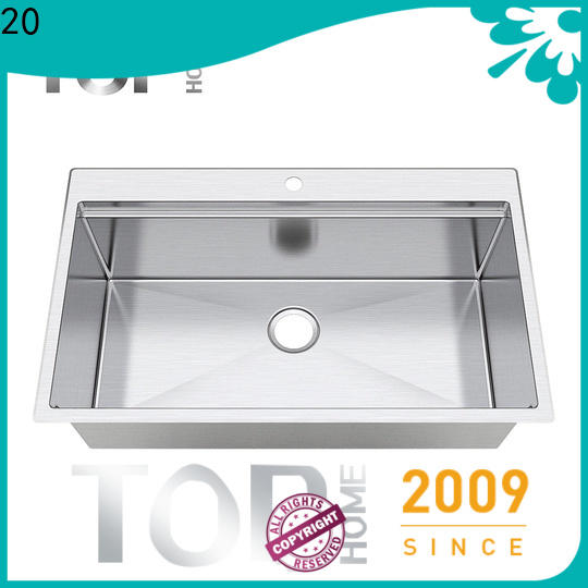 Top Home certification double bowl kitchen sink for sale for restaurant