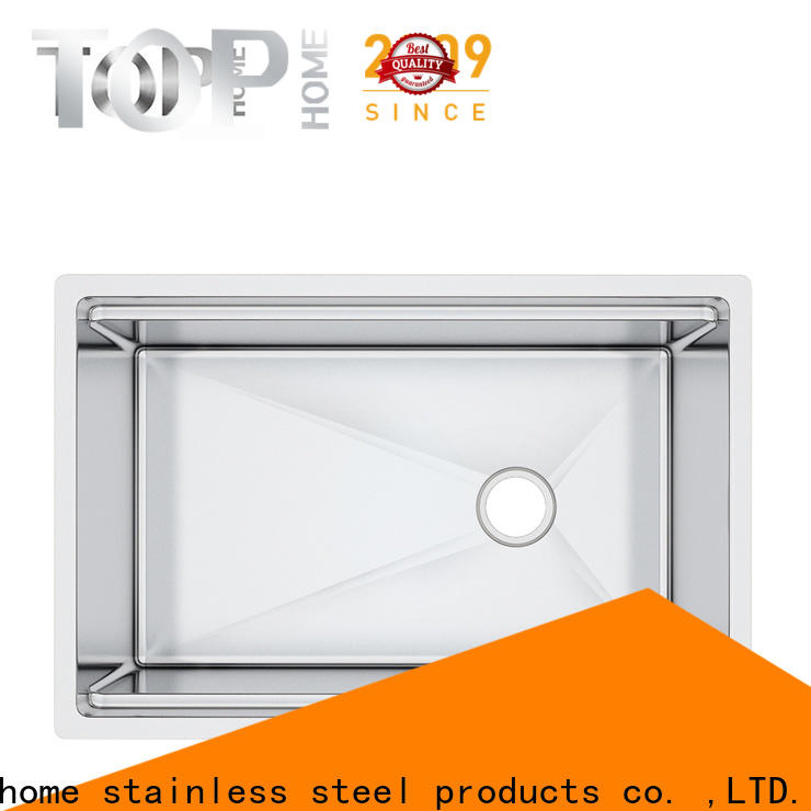 Top Home basin stainless steel undermount sink metal for countertop