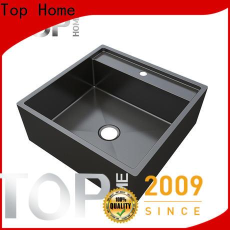 Top Home made black sink metal for restaurant