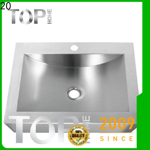 Top Home clean commercial stainless steel bathroom sinks basin for toilet