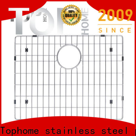 good quality stainless steel sink protector grid display for cooking