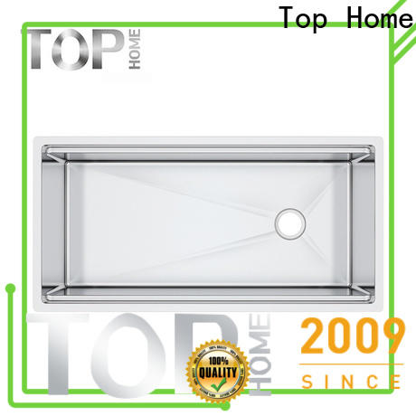 handmade stainless steel undermount sink inside wash easily for countertop