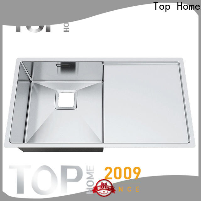 Top Home convenience top mount stainless steel sink for sale villa