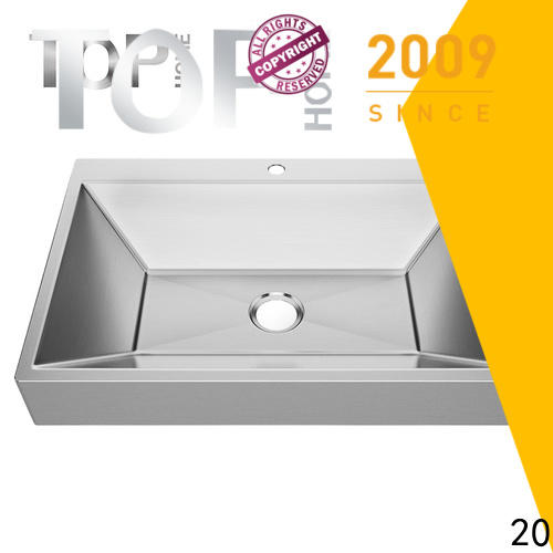 good quality commercial stainless steel bathroom sinks rectangular wholesale