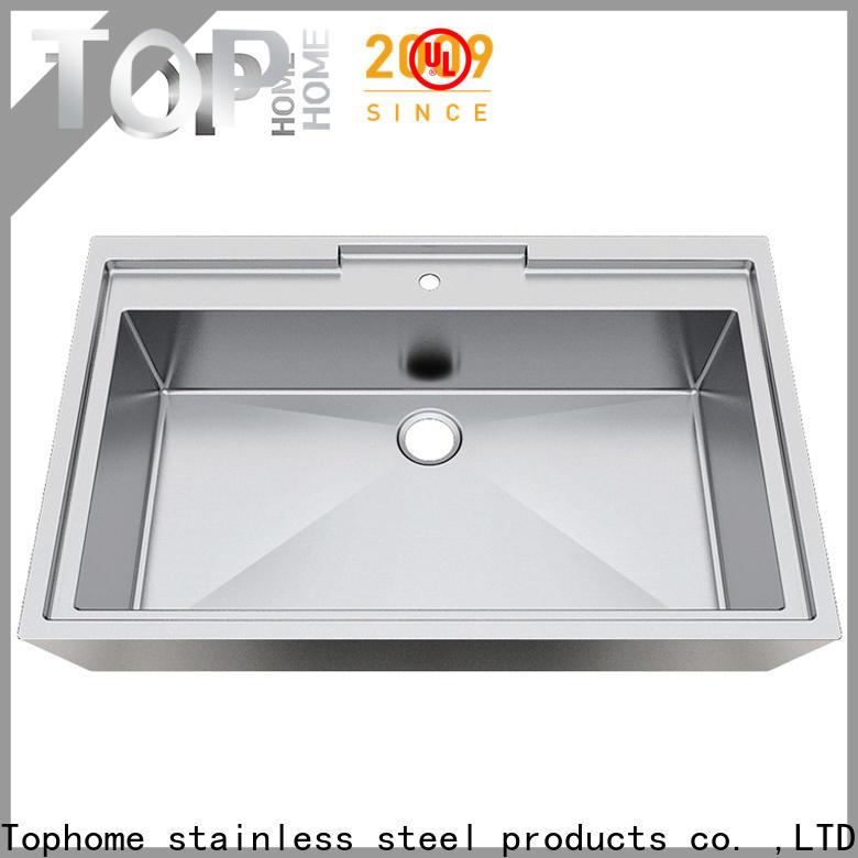 Top Home pedestal stainless bathroom sink fixtures for washroom
