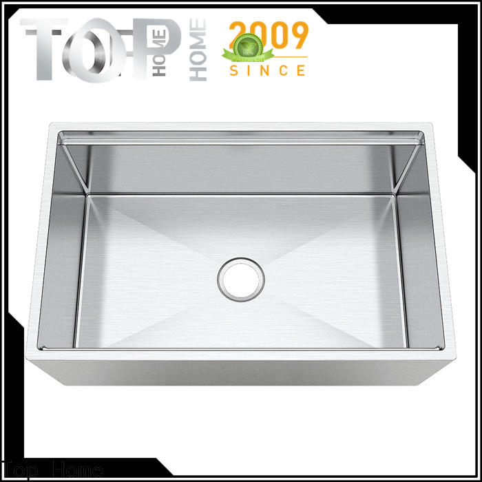 Top Home superior stainless apron sink easy cleanning for cooking
