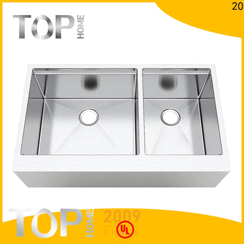 Top Home superior apron front kitchen sink easy cleanning for countertop