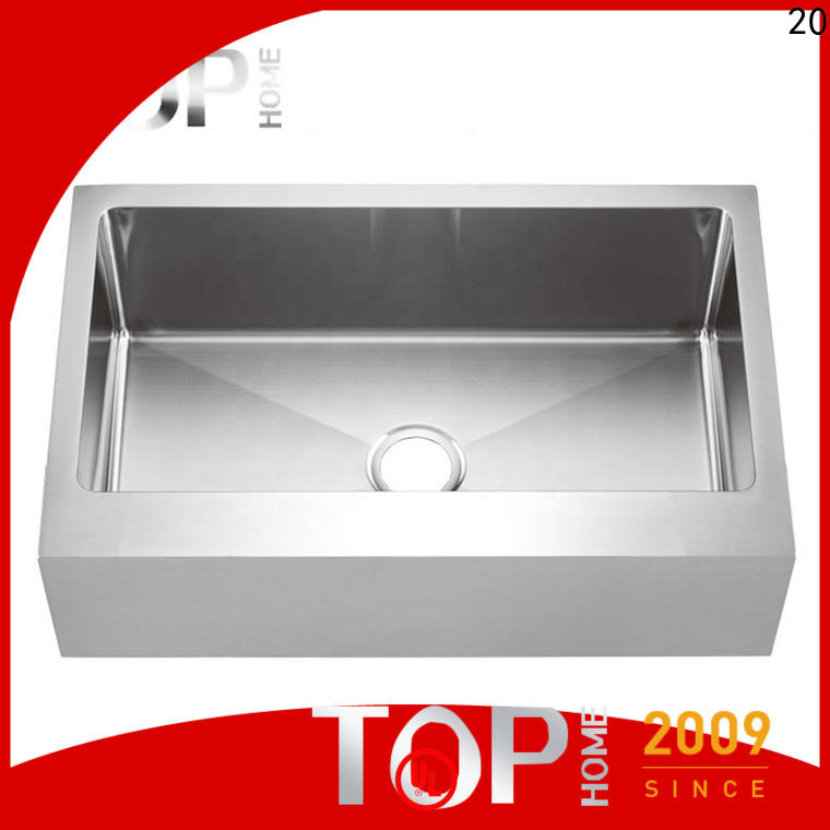 Top Home gold stainless farmhouse sink supplier for restaurant