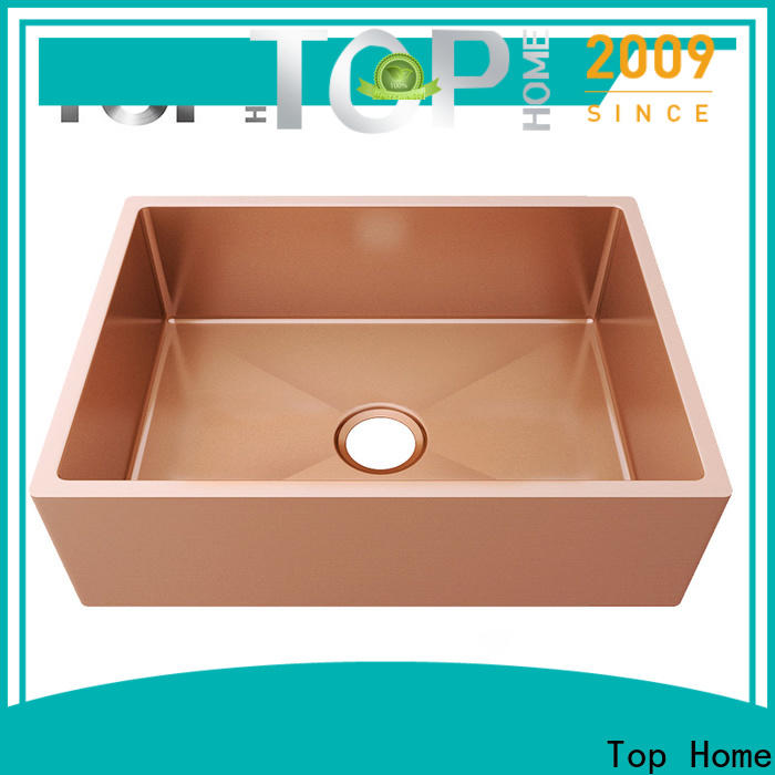 Top Home single stainless kitchen sinks double bowls for farm
