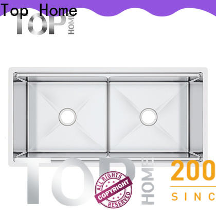 Top Home 40x20x10 single bowl kitchen sink for cooking