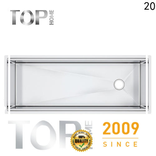 Top Home durable stainless steel undermount sink online for kitchen