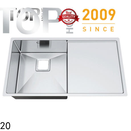 Top Home convenience top mount stainless steel sink easy cleaning farmhouse