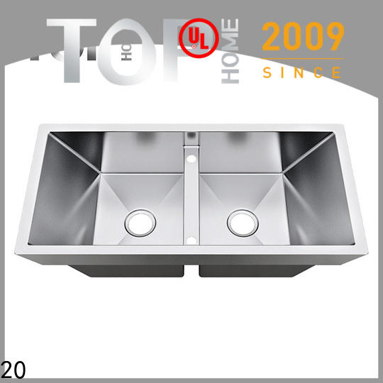 Double Bowls top mount kitchen sinks bowl easy installation cook