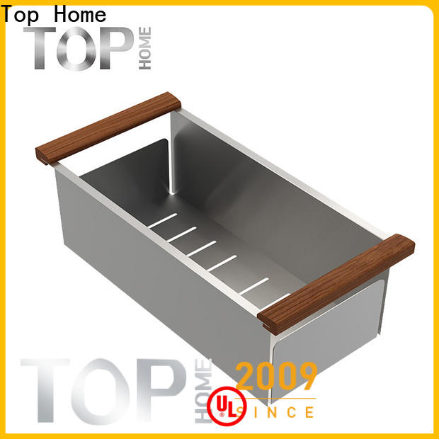 Top Home modern stainless steel sink colander factory price for kitchen item