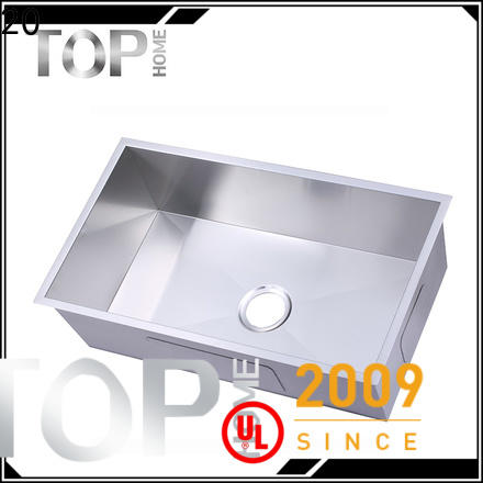 Top Home industrial commercial stainless steel sink durability outdoor countertop
