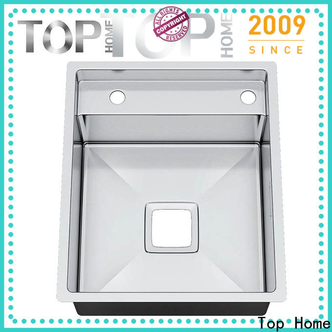 Top Home convenience top mount stainless steel sink easy cleaning villa