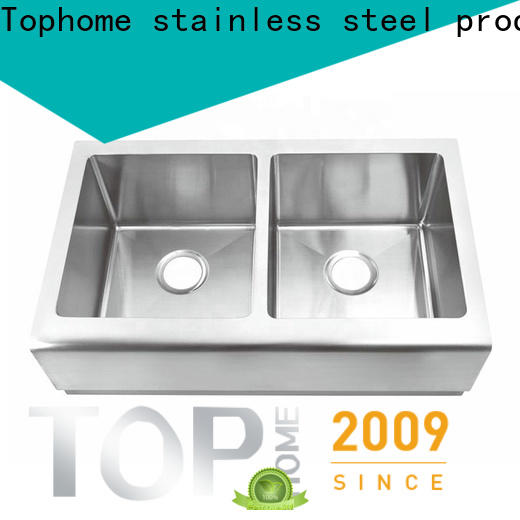 Top Home apron front kitchen sink durable for restaurant