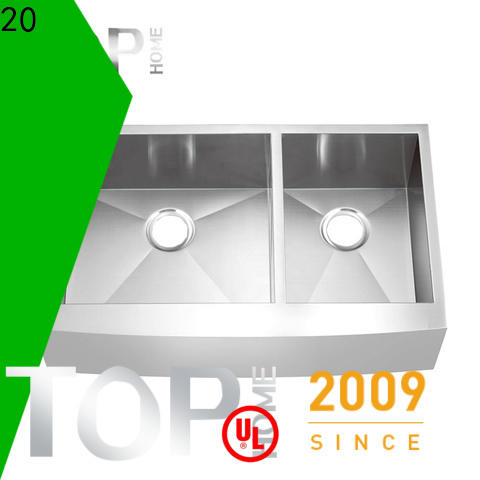 apron front sink gauge dewatering rapidly for kitchen
