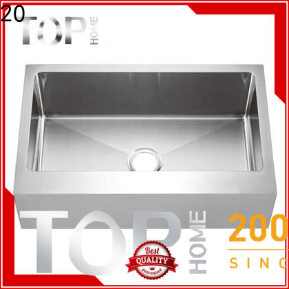 easy installation stainless steel farmhouse sink workstation dewatering rapidly for kitchen