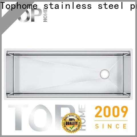 Top Home durable undermount stainless steel kitchen sink manufacturer for restaurant