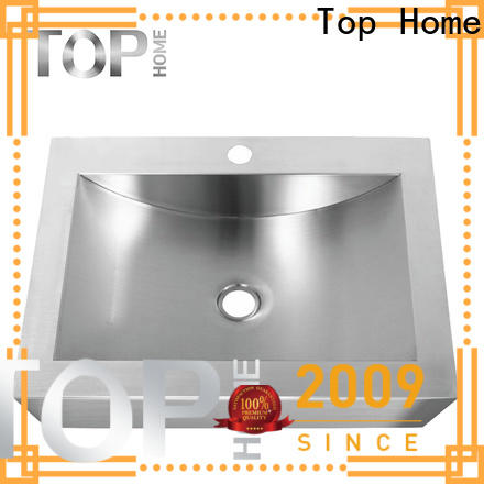 Top Home Modern stylish stainless steel bathroom sink corner for laundry