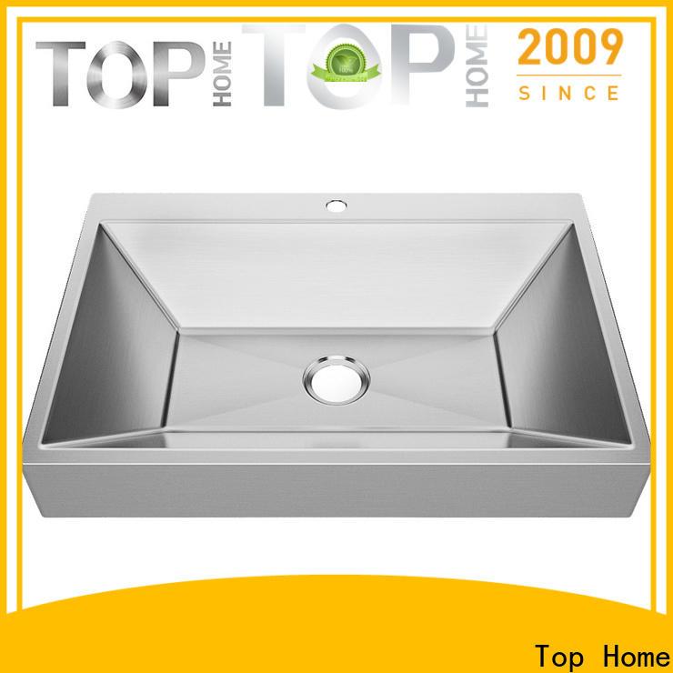 Modern stylish commercial stainless steel bathroom sinks 1618g corner for laundry