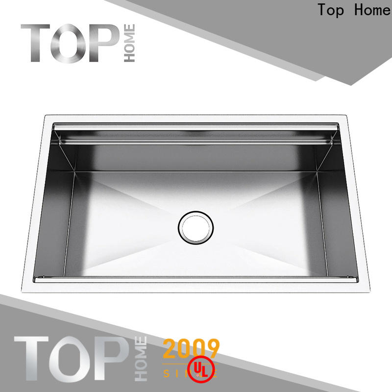 Top Home durable undermount stainless steel kitchen sink easy cleanning for kitchen