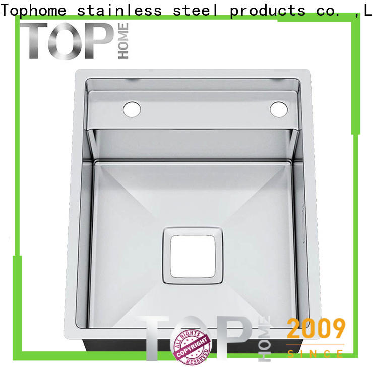 Top Home kitchen top mount apron sink easy cleaning farmhouse