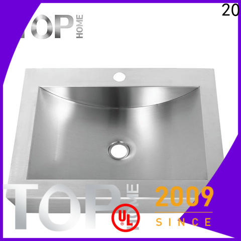 Top Home clean commercial stainless steel bathroom sinks fixtures for washroom