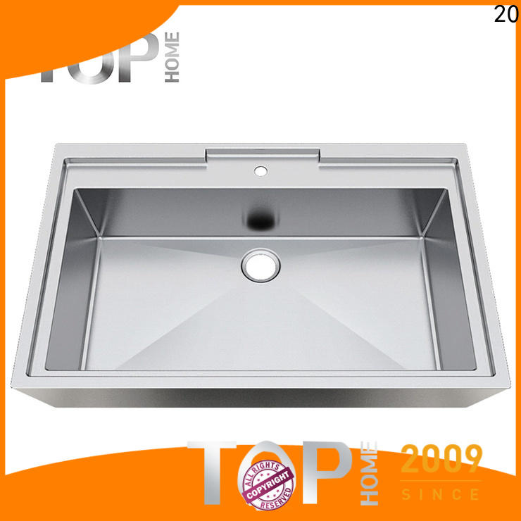 Top Home good quality stainless steel bathroom sink durability for laundry
