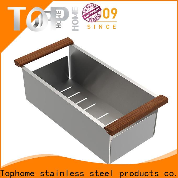 convenience stainless steel sink colander steel strainer for kitchen stuff