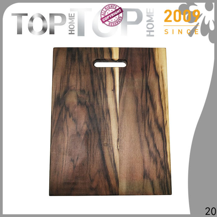 Top Home bamboo cutting board with handle for sale for chopping