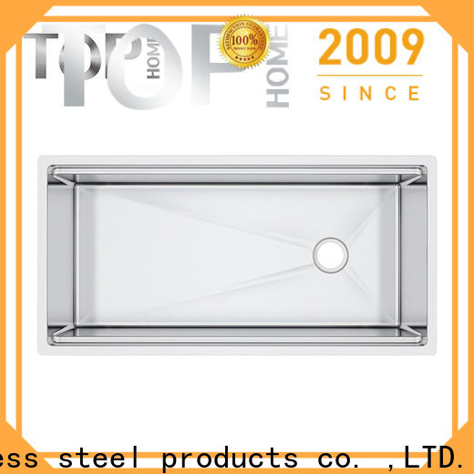 Top Home multifunctional stainless steel under mount sink for sale